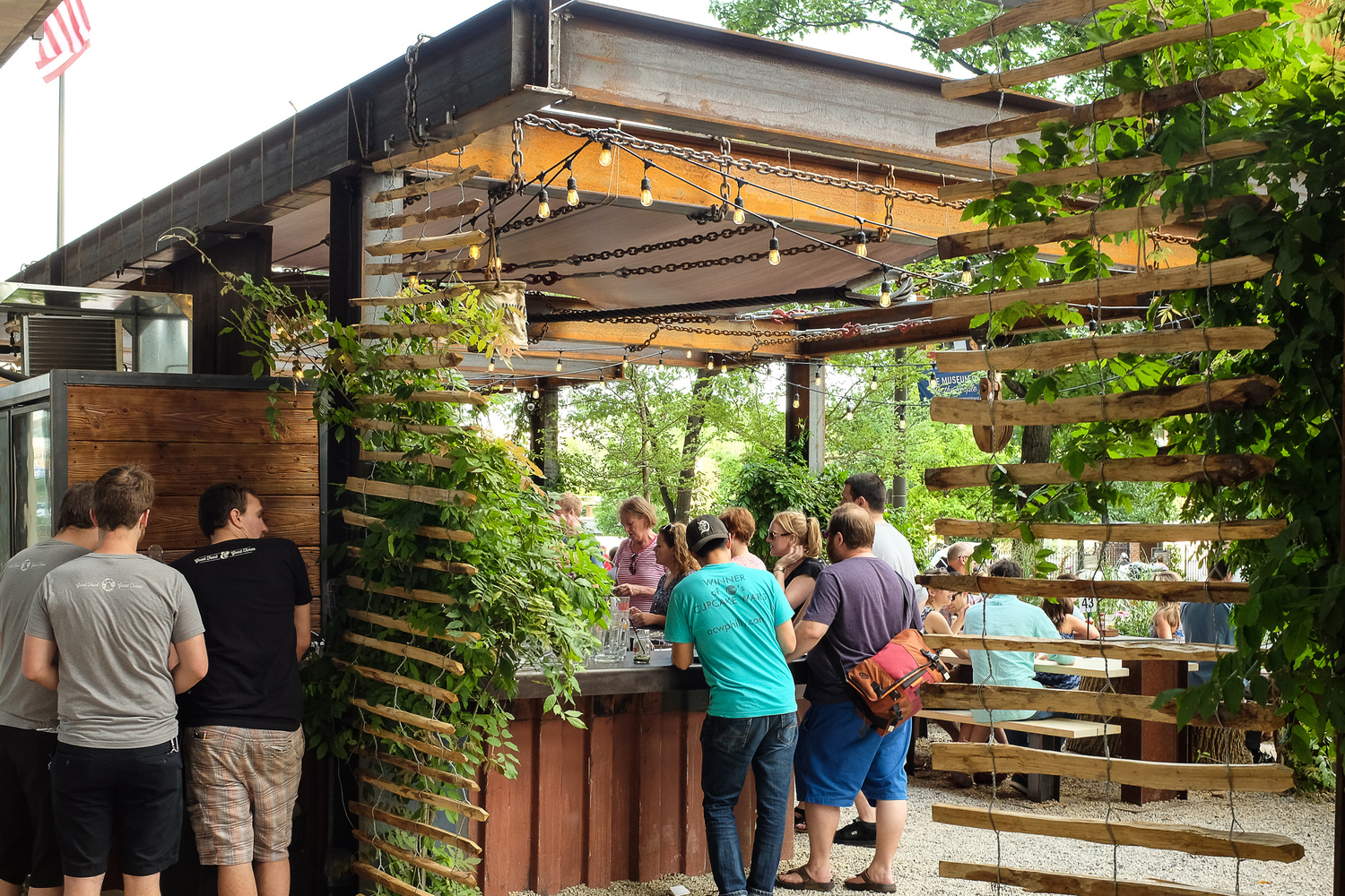 Ten wonderful uses for beer besides drinking it ipromtg - Village beer garden port chester ...