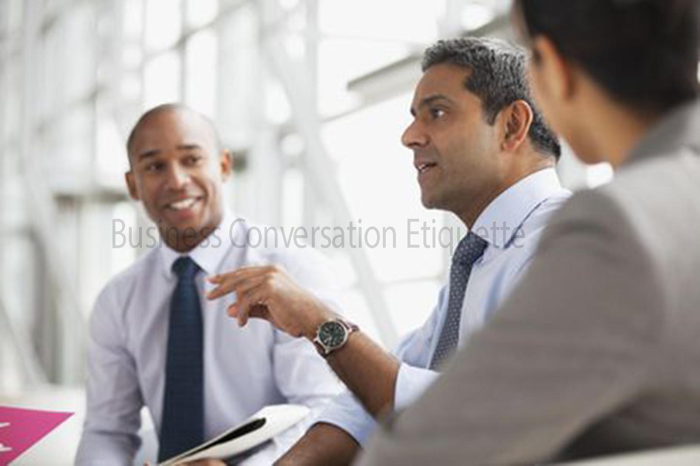 Business Conversation Etiquette